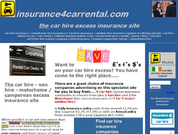 car hire excess insurance. Black Bedroom Furniture Sets. Home Design Ideas
