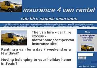 546aa22687 Just over a year ago www.insurance4vanrental.com was launched to advertise van  hire excess insurance products. In February 2011 out of sixteen sales that  ...
